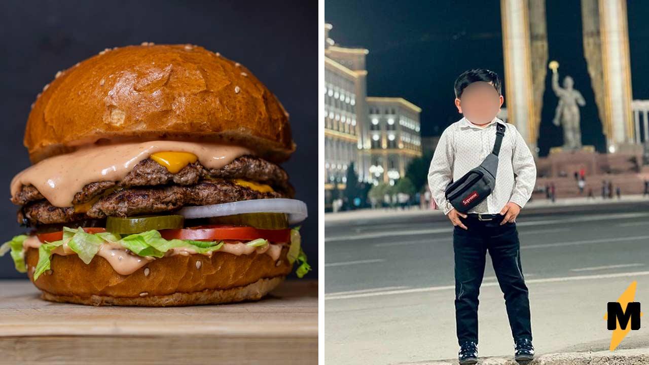 Мемы с Хасбиком или мемы с Абдурозиком Певец съел бургер на видео и отправил соперника в нокаут в этой битве