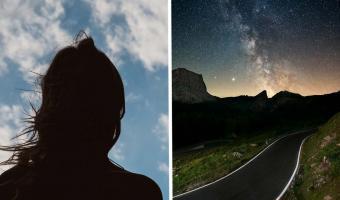Пара ехала ночью через лес, а с дороги им помахала тень. Стало ещё хуже, когда они поняли — это живой человек