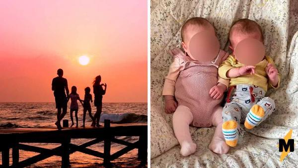 В семье родились дети с разницей в 13 дней. Так бывает, если родители обманули природу, а она пошутила в ответ