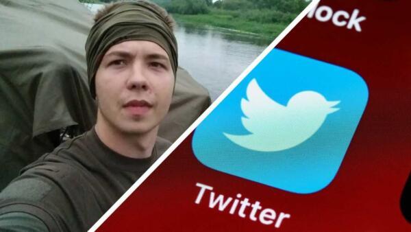 Роман Протасевич встревожил сторонников постами в твиттере. В нём видят дипфейк и заложника