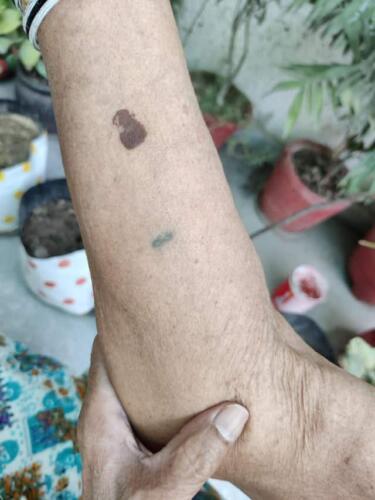 Бабуля показала, что случилось с её тату 70-летней давности. Стереотип пошатнулся - шах и мат, скептики