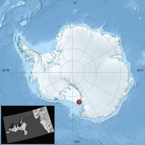 На Антарктиде солнце светит розовым, и это не фильтр. Блогер показал рассвет из центра Земли