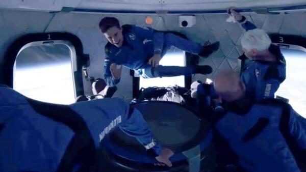 Уолли Фанк, побывавшая в космосе с Джеффом Безосом, не до конца довольна полётом
