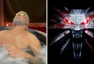 Геральт лёг в ванну и бьёт рекорды Twitch. Банить за наготу копию ведьмака никто не рискнул