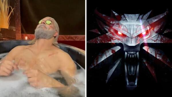 Геральт бьёт рекорды на Twitch прямо из ванной. Ведь этот стрим за наготу не забанить