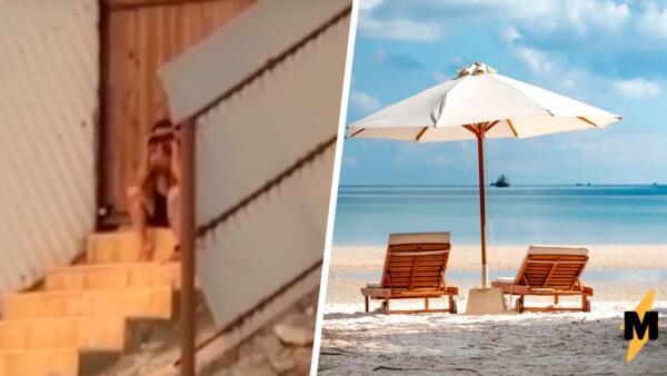 Мужчина в Дагестане попался с биноклем на женском пляже. Видео с ним разделило жителей республики