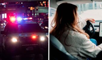 Водительница BMW из Липецка врезалась в машину с семьёй и станцевала на видео