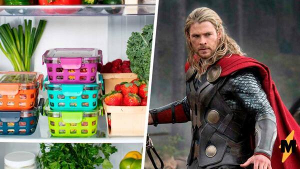 Едите по восемь раз в день? Поздравляем, вы - Тор, по крайней мере, у Криса Хемсворта это вышло именно так