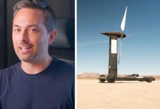 Физик проиграл блогеру 10 000 долларов в споре. Учёный не верил, что блогер создаст быстрое авто без двигателя
