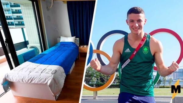 Олимпийские антисекс-кровати оказались фейком, и спортсмен доказал это прыжками