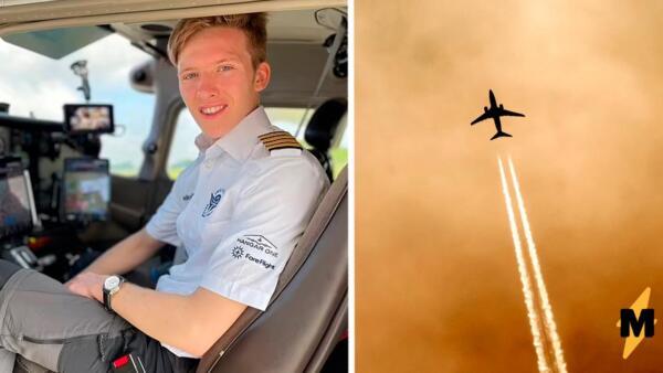Молодой пилот облетел вокруг света и установил мировой рекорд. 44 дня -- полёт нормальный