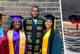 Мама окончила колледж спустя 30 лет. Теперь в её семье трое детей и четыре выпускника