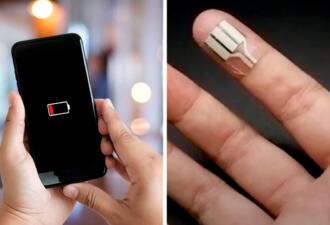 Инженеры научились превращать пот с рук в электроэнергию. Разряженный гаджет больше не беда