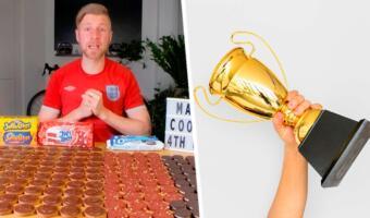 Сколько печений способен съесть человек? В ютубера влезло 200