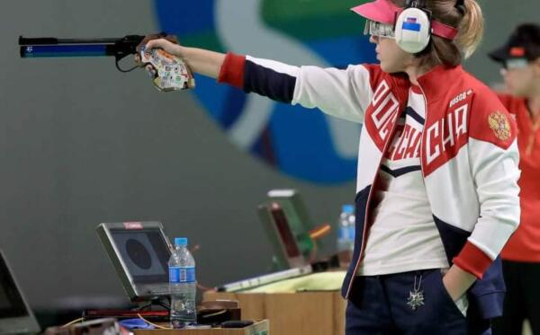 Стрелок Виталина Бацарашкина попала в фан-арты благодаря фото с Олимпиады-2016