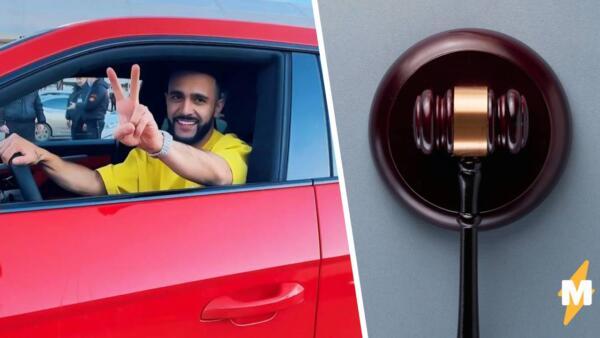 Гусейн Гасанов лишился водительских прав после отказа от проверки на опьянение