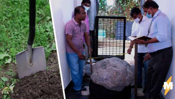 На Шри-Ланке рабочие нашли во дворе скопление сапфиров за 100 миллионов долларов