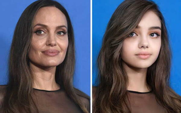 Нейросеть попыталась угадать, как выглядели знаменитости подростками