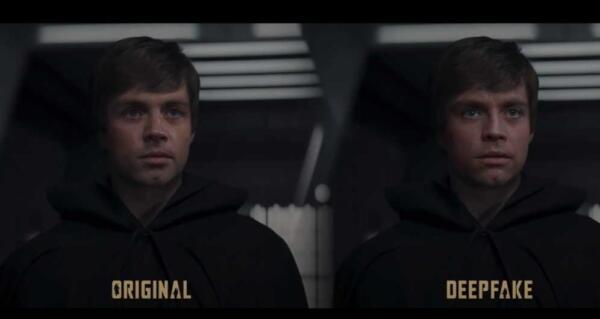 Lucasfilm нанял ютубера, омолодившего Люка Скайуокера с помощью дипфейка