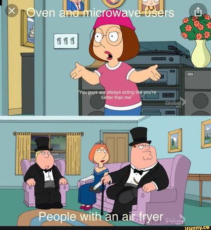 Аэрогриль - новый мем про роскошную жизнь. Почему люди так полюбили это устройство