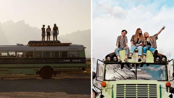Три девушки узнали, что встречаются с одним парнем, и стали путешествовать без него