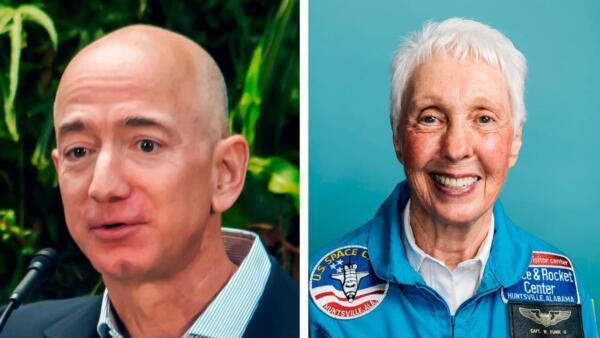 Джефф Безос, у тебя всё нормально? Магнат берёт в космос 82-летнюю бабулю, а та и рада - она ждала 60 лет