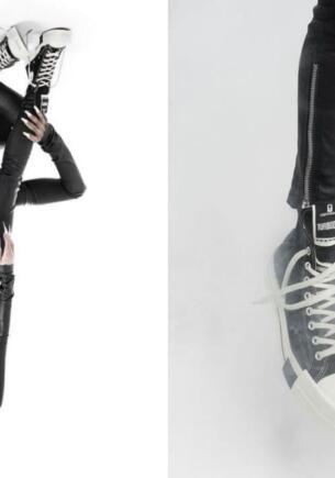 Converse обвинили в поддержке сатанизма из-за моделей, изобразивших пентаграмму на фото