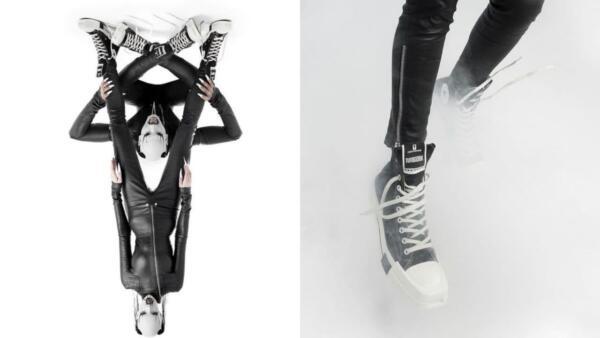 Converse обвинили в поддержке сатанизма из-за моделей, образовавших пентаграмму на фото