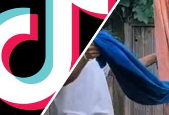 В тиктоке набирает популярность новый тренд с полотенцами TwoTowelChallenge