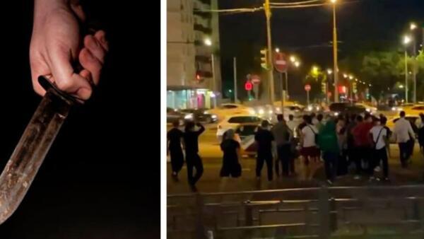 Очевидцы показали видео побоища в Кузьминках. Почти 200 мигрантов бежали стенка на стенку