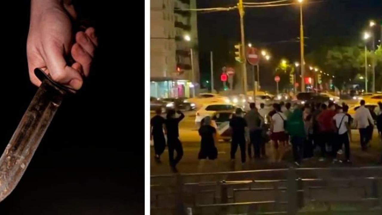 Около 200 мигрантов устроили побоище в Кузьминках. Москвичи снимают видео и постят в Сеть