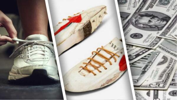 Как выглядел логотип Nike до того, как стать известным. Ответ на кроссовках за $ 1,2 миллиона