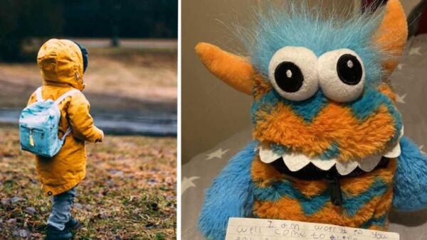 Мама дала сыну игрушку от фобий, но упс. Ребёнок стал бояться, что она оживёт и съест его