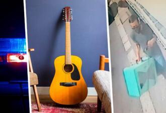 Итальянец украл гитару в Англии и сбежал от полиции во Францию. Он был во французском Кале уже через 30 минут