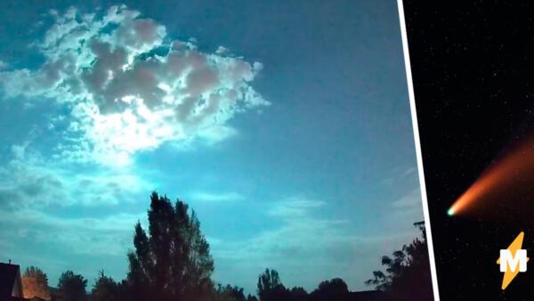 Ночь превратилась в день в Айдахо. Взрыв метеора в небе сломал местным жителям матрицу