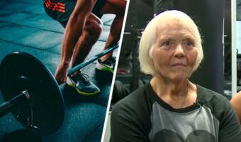 Бабушка в 78 лет начала заниматься спортом. Она тягает железо и соревнуется в пауэрлифтинге