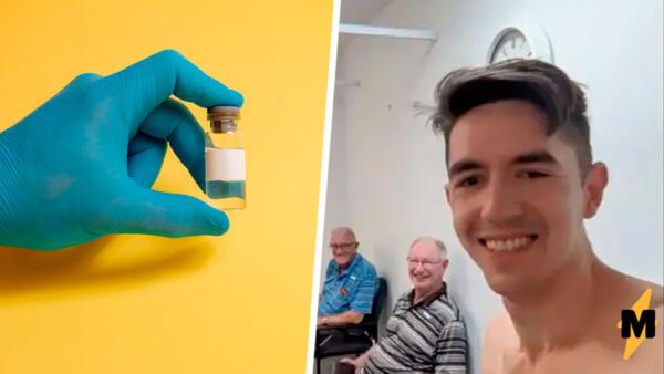 Мужчина из Австралии сделал четыре прививки от СOVID-19. Он думает, это прибавит ему антител