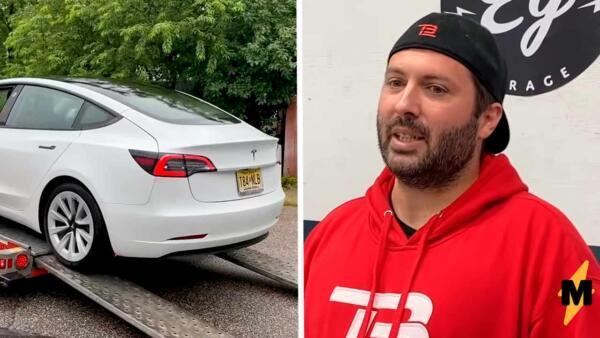 Хозяин Tesla сэкономил на ремонте в 23 раза. Вместо официального сервиса он выбрал гаражи