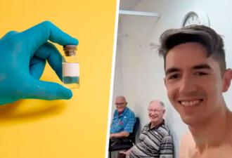 Мужчина из Австралии сделал четыре прививки от СOVID-19. Он думает, что это прибавит ему антител