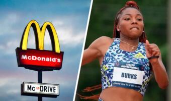 Школьница работала в «Макдоналдсе», чтобы побороть бедность. Теперь она в Олимпийской сборной США