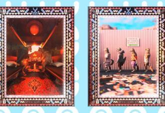 Бабушки на лавках и шашлык. Yota и медиа-художник Brickspacer создали коллекцию цифрового искусства про Россию