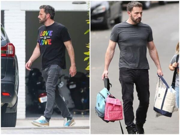Бен Аффлек в футболке доказывает - Готэм ближе, чем кажется. И как теперь развидеть в этом качке Бэтмена?