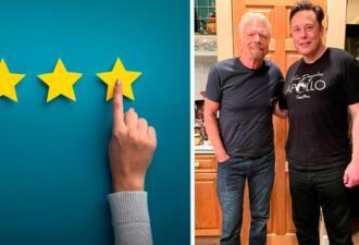 Фото босого Илона Маска попало на сайт футфетишистов. Они оценили его ниже Ричарда Брэнсона