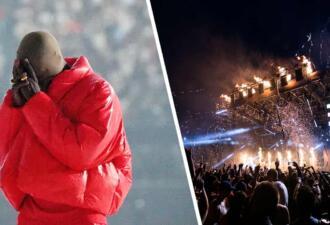 Канье Уэст заплакал на сцене под свой новый трек о потере семьи