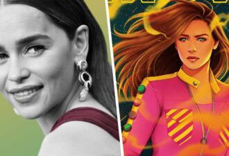 Эмилия Кларк вдохновилась Дэдпулом и выпустила комикс о матери-супергероине