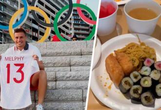 Регбист показал бесплатные напитки и автономные автобусы в Олимпийской деревне