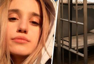 Валерия Башкирова обосновалась в СИЗО, и из её камеры слышны разговоры и хохот