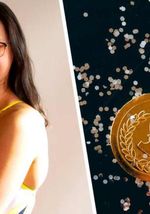 Пловчиха взяла золото на Олимпиаде, но из-за плохого зрения поняла это не сразу