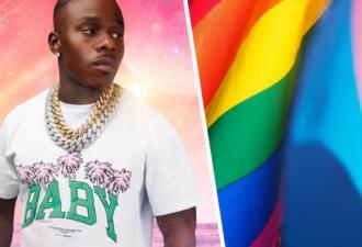Рэпер DaBaby пытался разогреть толпу на концерте гомофобным высказыванием