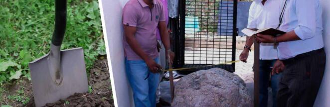 На Шри-Ланке рабочие нашли во дворе скопление сапфиров ценой в 100 млн долларов